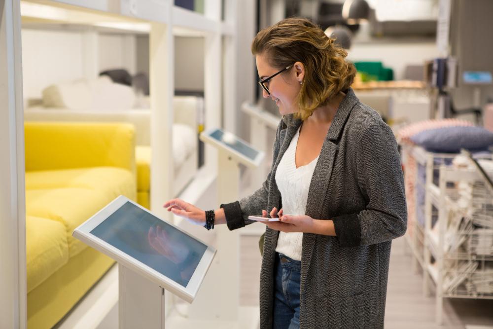 L'importance de l'affichage numérique pour les magasins